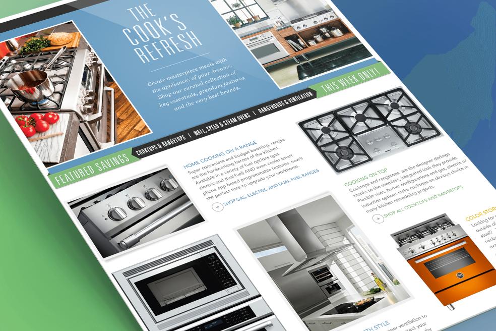 Cook's Refresh Campaign Graphic Design