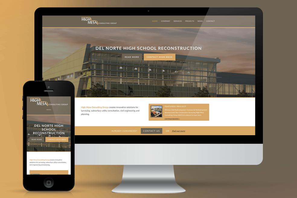 High Mesa Consulting Website Design