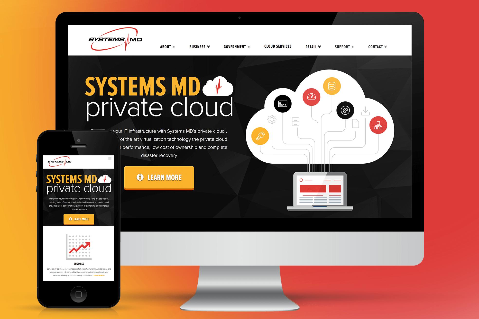Systems MD Website Design