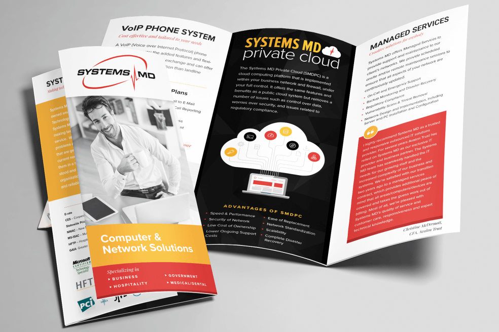 Systems MD Brochure Design